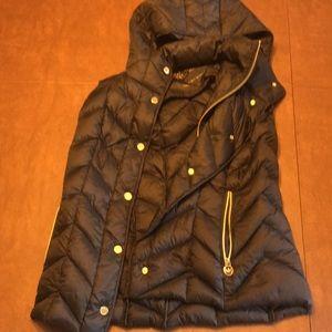 Michael Kors Ultra Lightweight down fill vest